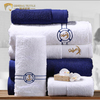 Hand towel logo embroidery colorful 100 cotton towel set