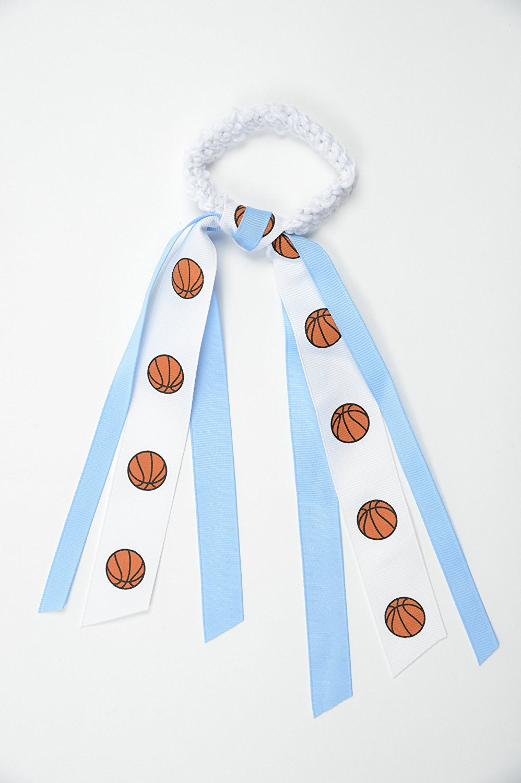"EMC Sports ""Basketball"" Ribbon Scrunch"