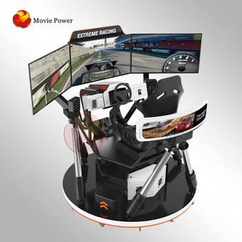 Amusement Park Simulation Rides Vr Racing Simulator Arcade Car Driving  Virtual Reality Motion Simulator 9d Vr Racing Games - Buy Newest  Multiplayer