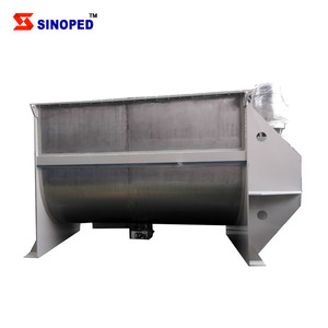 Horizontal Screw Spiral Ribbon Mixer 2 Ton Feed Mixer