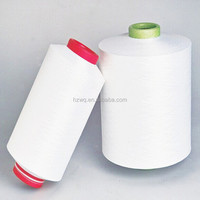High Quality 150D/48F Semi dull raw white polyester DTY yarn