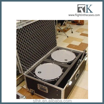 Drum Set Kit Flight Case Storage