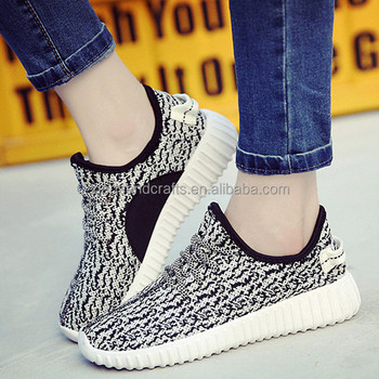 China manufacturer light sport woven elastic shoes for women