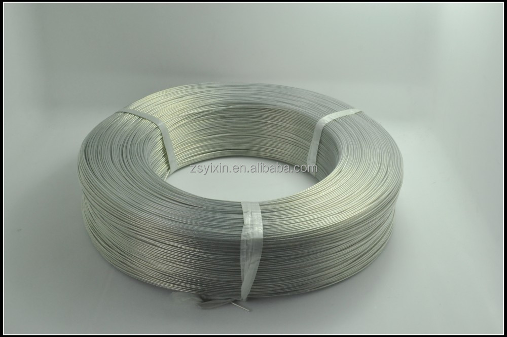 Factory price Single Core transparent PVC Insulated copper wire electric cable