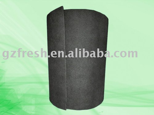 Rolling Active Carbon Air Filter Media
