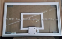 Safety Unbreakable Tempered Glass Basketball Backboard, Glass Basketball Board For Replacement