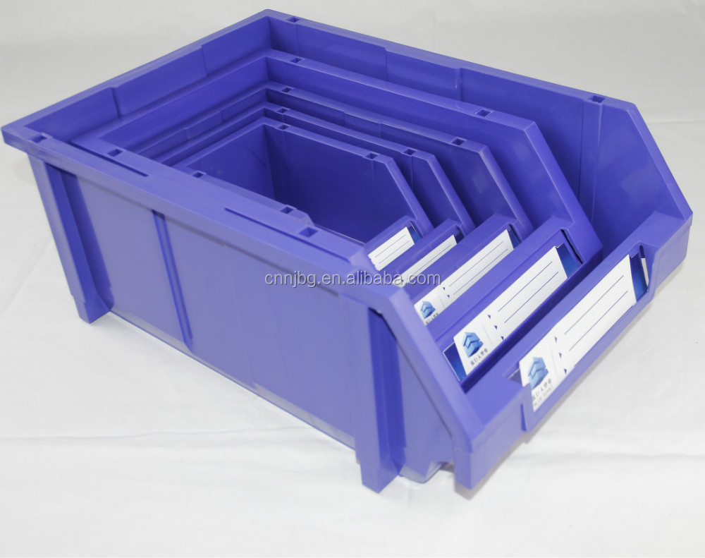 PP plastic type and plastic stackable storage bins