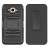Hybird 3 in 1 combo holster Rugged Armor Case with Belt Clip and Kickstand Samsung Galaxy J7 (2016)