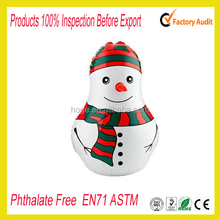 PVC inflatable snowman/Christmas inflatable snow man