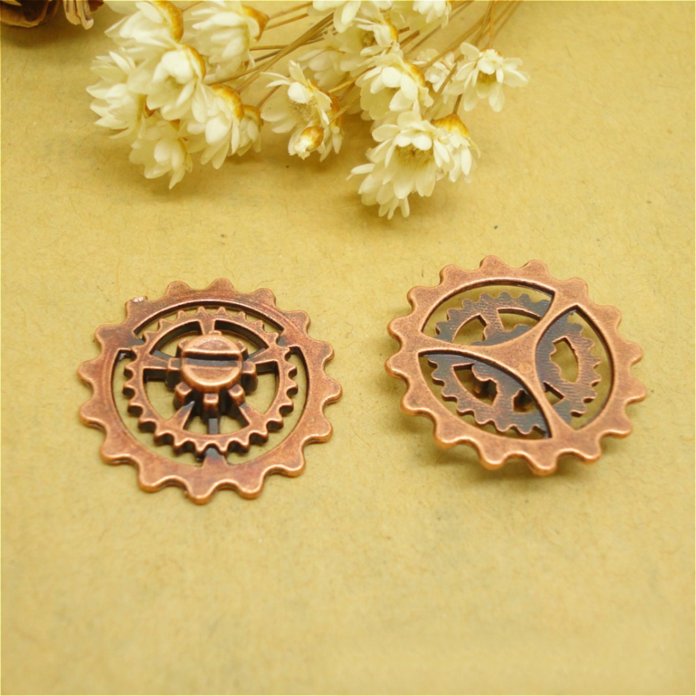 copper machinery watch movement diy making jewelry accessories parts to make jewelry
