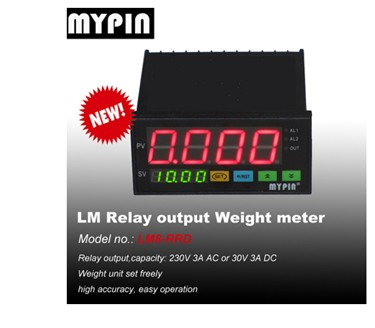 MYPIN 3 Relay Preset Weighting scale controlling meter(model:LH86-RRRD)