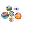 Round Shape Rts Wholesale Price Souvenir Customized Casting Enamel Pins Square Tin Pin Button Badge Rock Band Badges