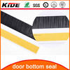 door bottom weather strip seal plastic bristle door brush seal