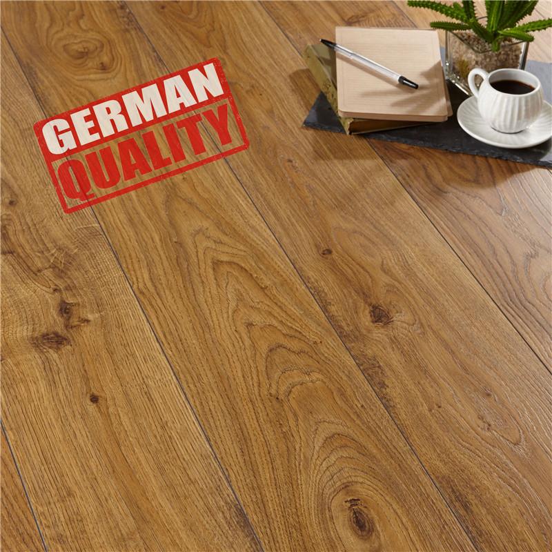 Design Beech Wood Laminate Flooring Hdf