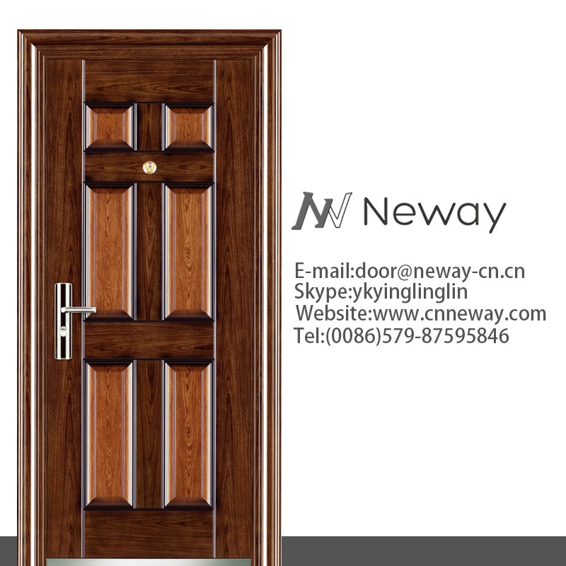 New House Modern Iron Gate Designs Building Steel Sliding Peephole ...