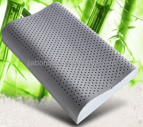 bamboo charcoal latex pillow latex pillow thailand