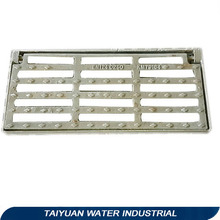 Standard size ms drain grating