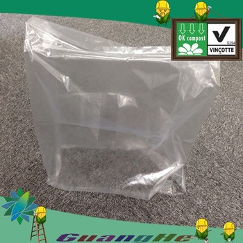 Biodegradable Waterproof Film Plastic Bags For Clothing