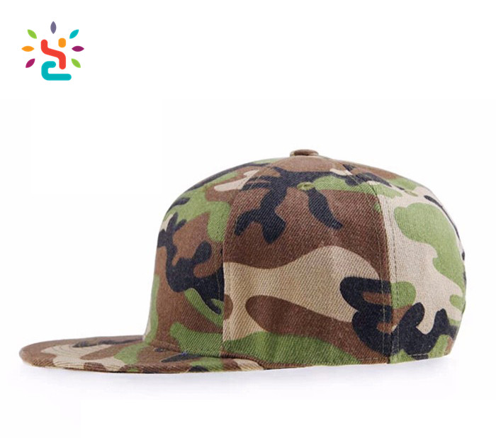 Custom snapback cap customized mens camo baseball hat wholesale army sport outdoor running hats