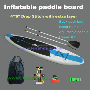 inflatable stand up paddle board with strips