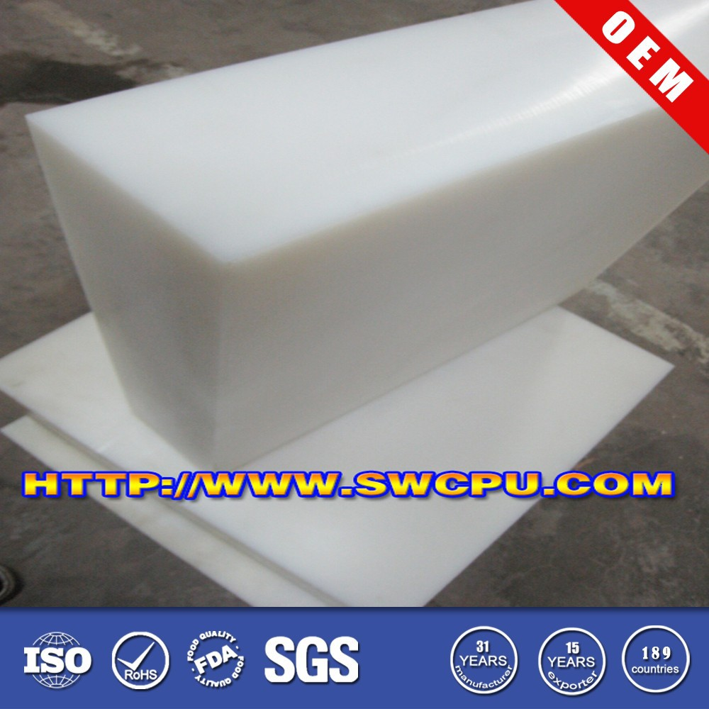 Custom abs plastic block