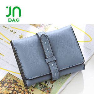 JIANUO Credit card wallet wholesale cheap leather wallet india pu luxury wallets