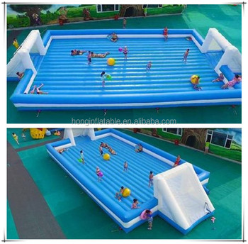 d02b3c73 New Giant Outdoor Interactive Sport Game Kids Inflatable Water Soap Soccer  Field For Sale - Buy Inflatable Soccer Field,Inflatable Water Soccer ...