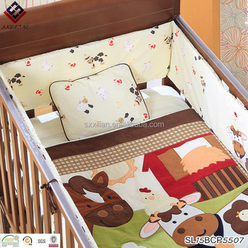 Hot Selling Baby Cribs Bedding Sets Bed Sheets Fair And Lovely Price