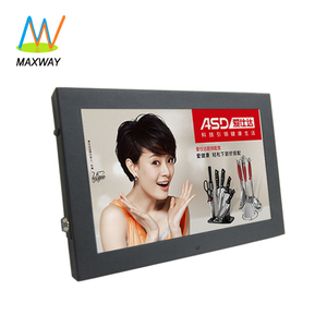 Narrow frame small led commercial advertising display screen