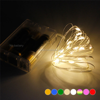 2017 hot sell 10M 33FT battery fairy party Holiday Copper christmas Wire 5V led string light For Christmas Decoration party