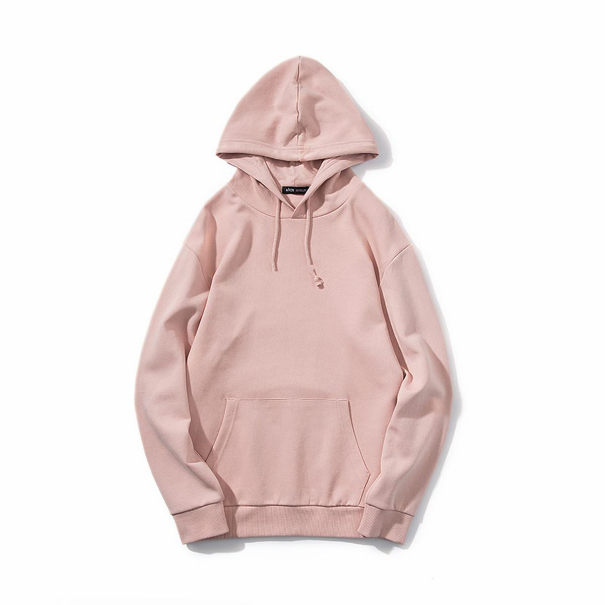 Spring  breathable light french terry custom design anf colors men Hoodies