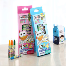 Kids stationery non toxic pencil crayon set