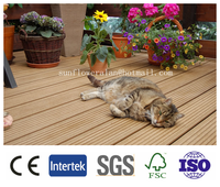2016 ECO friendly Outdoor WPC/ wood plastic composite decking floor