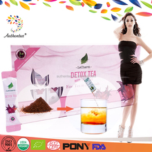 Multi-effect Sachet/Tin/Box/Vacuum Package Stevia Detox Slim Tea Extract with High Quality
