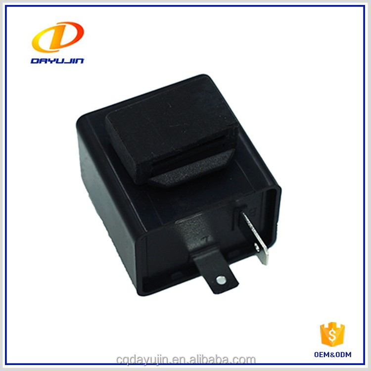 Motorcycle Round Type 12v Flasher Relay Made in Chongqing,China