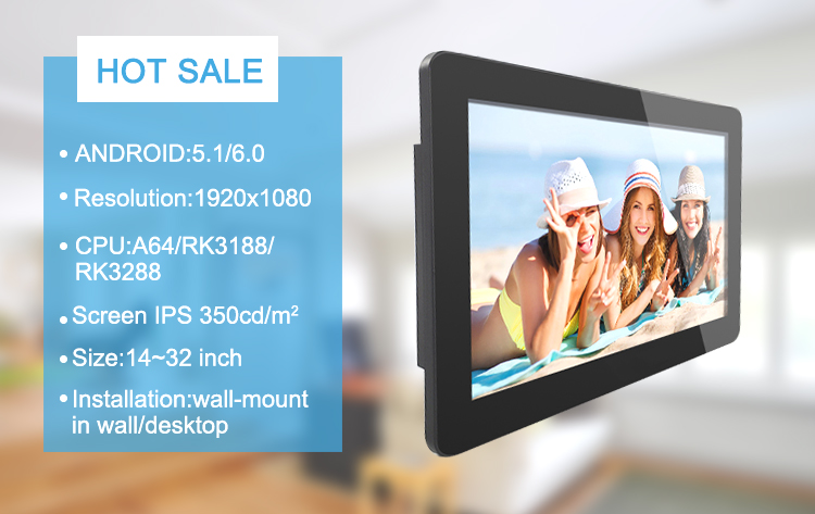 Ips Screen15 6 Inch Android Tablet Core Allwinner A64 - Buy Android Tablet  With Touch,Tablet Pc With Wiri,Wall Mount Android Tablet Product on
