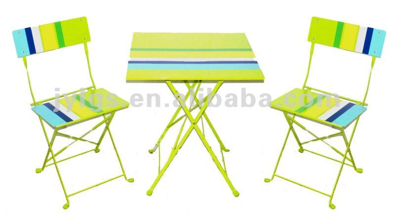 Hot Sale Cheap Plastic Folding Bistro Set Chair And Table