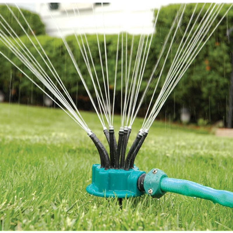 Automatic Nozzles 360 Degree Rotary Water Lawn Garden Irrigation Sprinkler