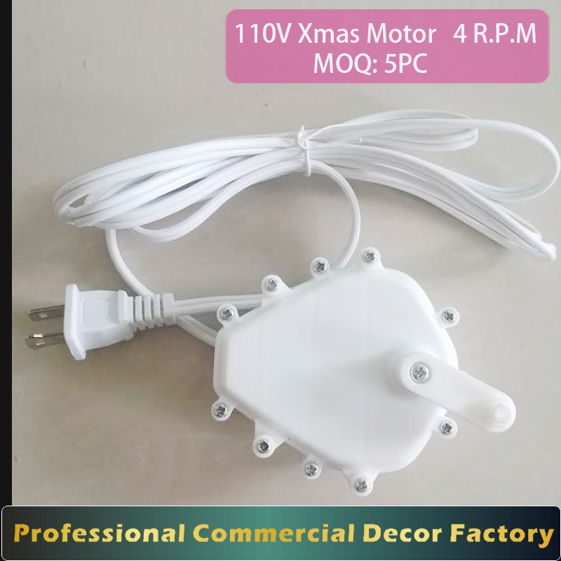 110V outdoor fixed speed 5RPM AC christmas decoration deer <strong>motor</strong> Prop <strong>motor</strong> with arm for shaft