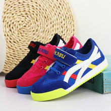 J G Chen 2016 New Arrival Kids Shoes Air Mesh Candy Color Casual Sneakers For Boys