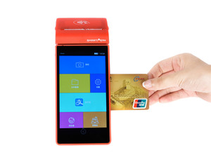 Mifare card reader pos / pos terminal android / android pos terminal with printer