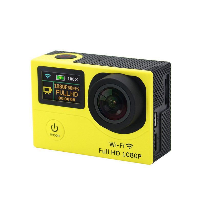 "Dual Screen 2""+0.95"" Action Sports Camera 1080p Full HD Outdoor Travel Wifi 30M waterproof Action Camera 1050mah Battery"