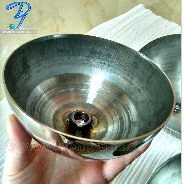 Hemispherical 6 inch Stainless Steel Ball
