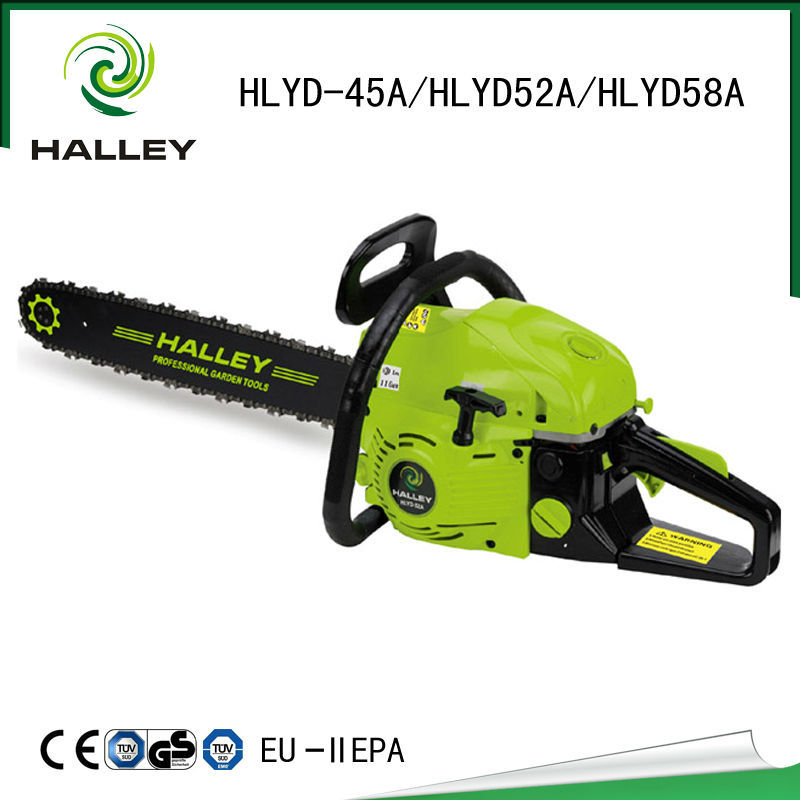 New design diesel chainsaw 4500 with CE/GS/EMC