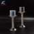 K-2018 cut diamond crystal pillar glass candle holder