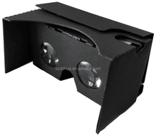 HOT Google cardboard VR BOX II 2.0 Version VR Virtual Reality 3D Glasses very suit for gift market