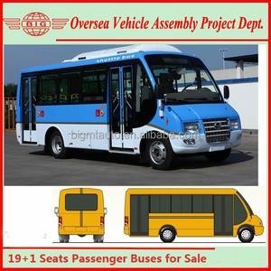 EuroIII Diesel City Short Passenger Buses for Sale