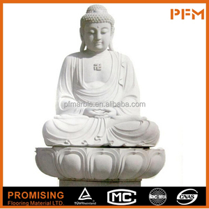 Best price natural marble stone hand carved gautam buddha statue