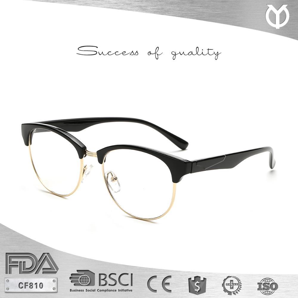 Cf810 Fashion Round Semi-rimless Nice Zenni Optical Eyeglasses Frame ...