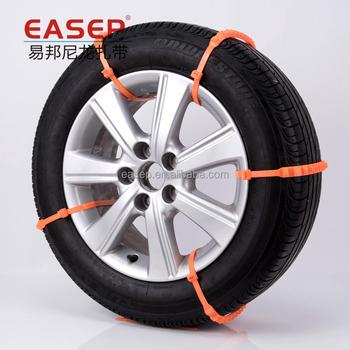 f7e29a40b9f2 Nylon Snow Chain - Tire Traction Zip Ties Sgs Ce Rohs Reach - Buy ...